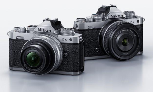 Neue Nikon Z fc: Technik der Z 50 im schicken Retro-Gehäuse