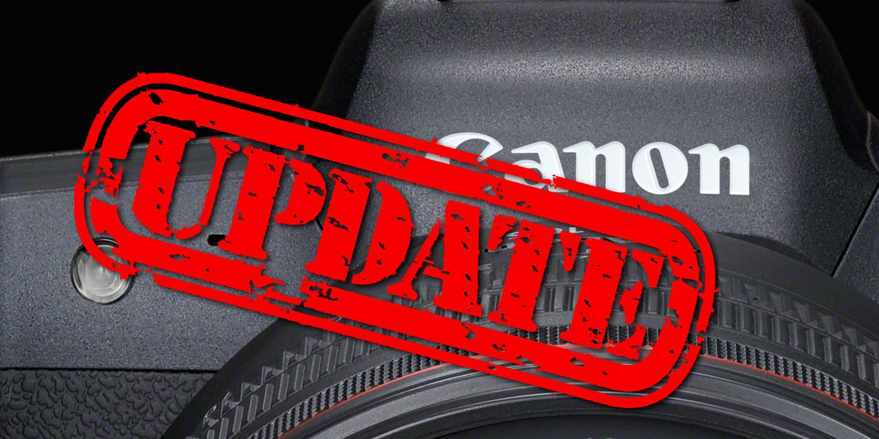 Canon bringt Firmware-Updates für EOS R5, EOS R6 und EOS-1D X Mark III