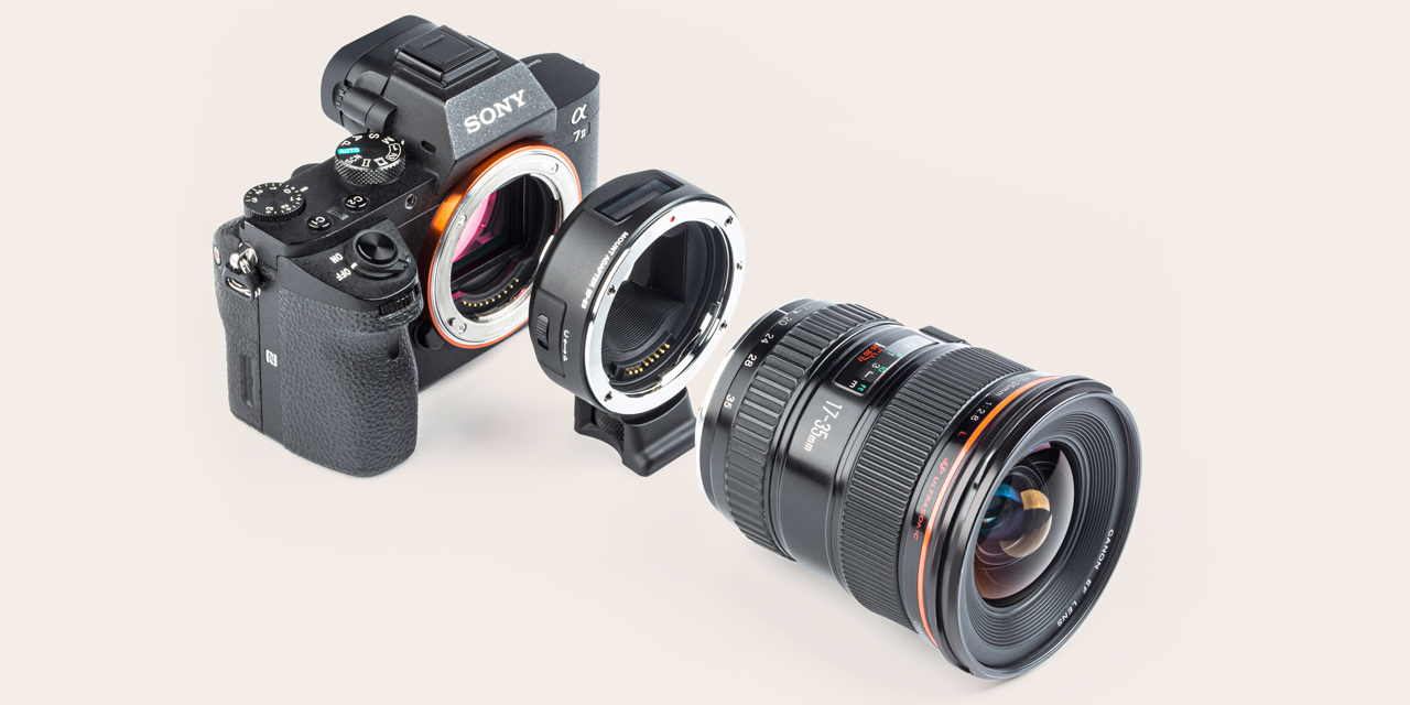 Viltrox-Adapter EF-E5 verbindet Canon EF-Objektive mit Spiegellosen von Sony