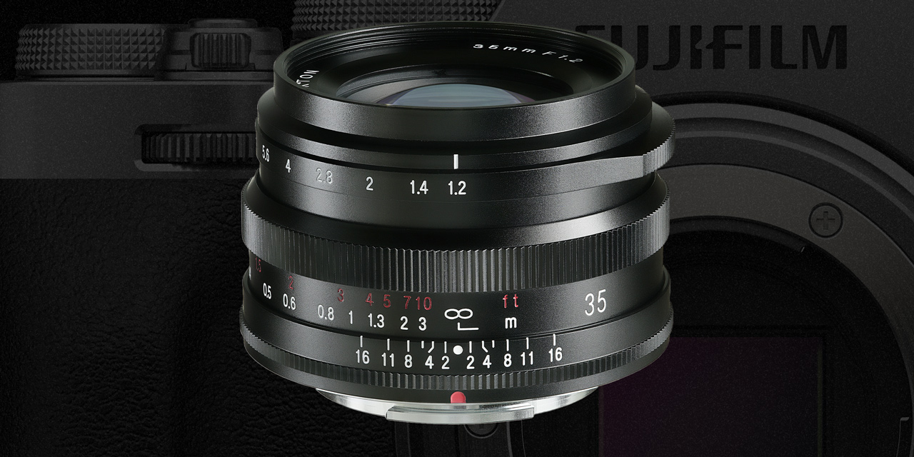 Voigtländer präsentiert: Nokton 35mm F/1.2 X für Fuji X-Mount