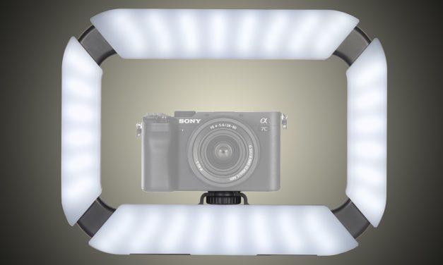 Rollei Lumis U-Light: Regelbare Ringleuchte für Kamera und Smartphone