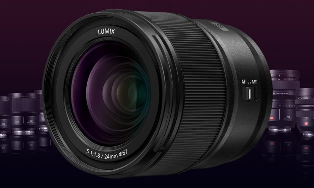 Panasonic präsentiert Weitwinkelobjektiv Lumix S 24mm F1.8 für L-Mount