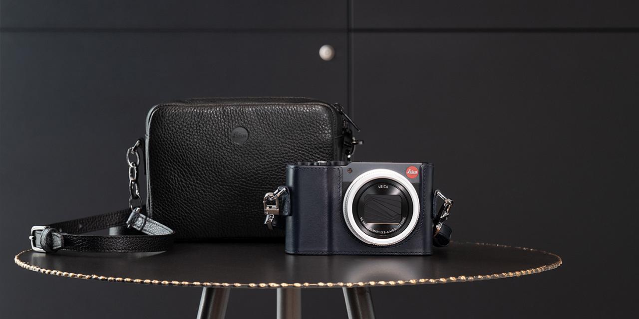 """Leica bringt C-Lux als """"Style Kit"""" in Light-Gold und Midnight-Blue"""
