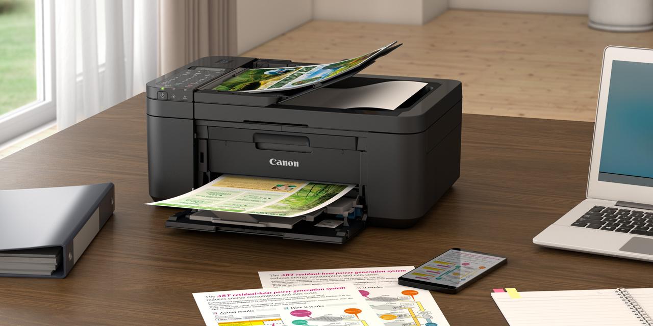 Canon Pixma TR4650: Drucken, scannen, kopieren und faxen zum günstigen Preis