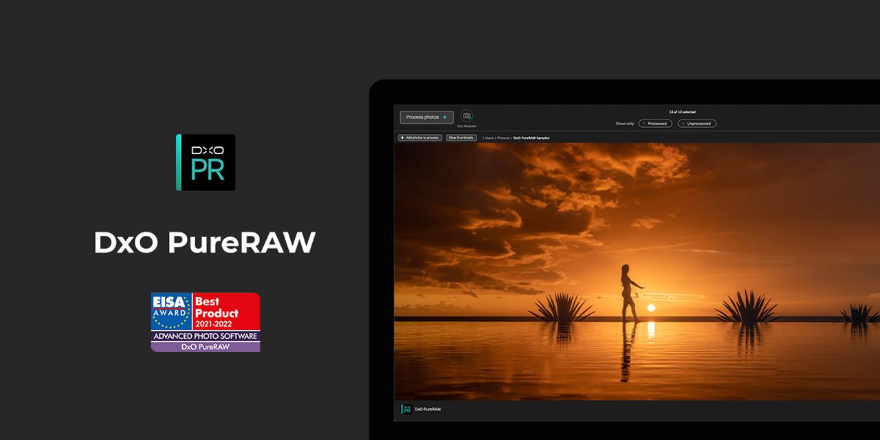 DxO gewinnt EISA Award für Pure Raw und feiert mit satten Rabatten