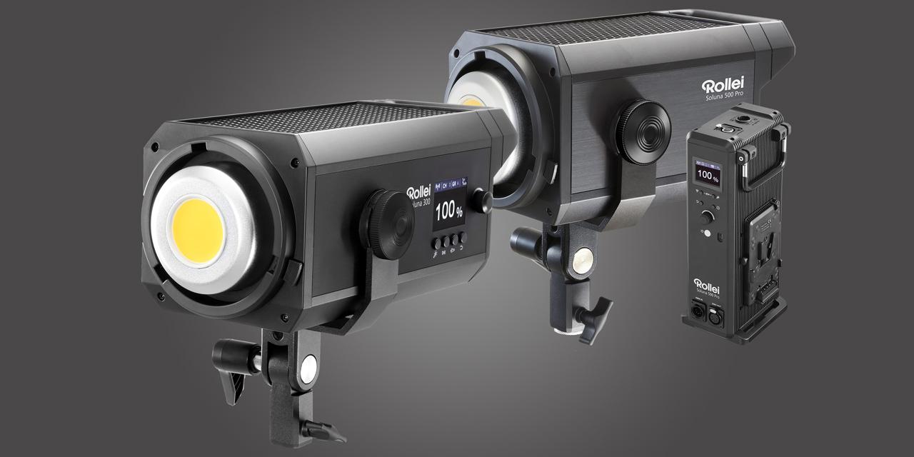 Neu von Rollei: LED-Licht Soluna 300 – Soluna 500 Pro überabeitet