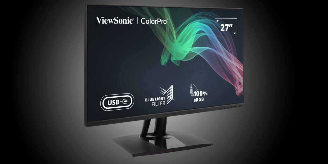 Neue von ViewSonic: Pantone-validierte Displays für Video- und Bildbearbeitung