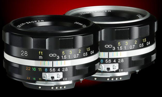 Voigtländer bringt manuelles Color Skopar 28mm f2,8 asphärisch SL IIs für Nikon F