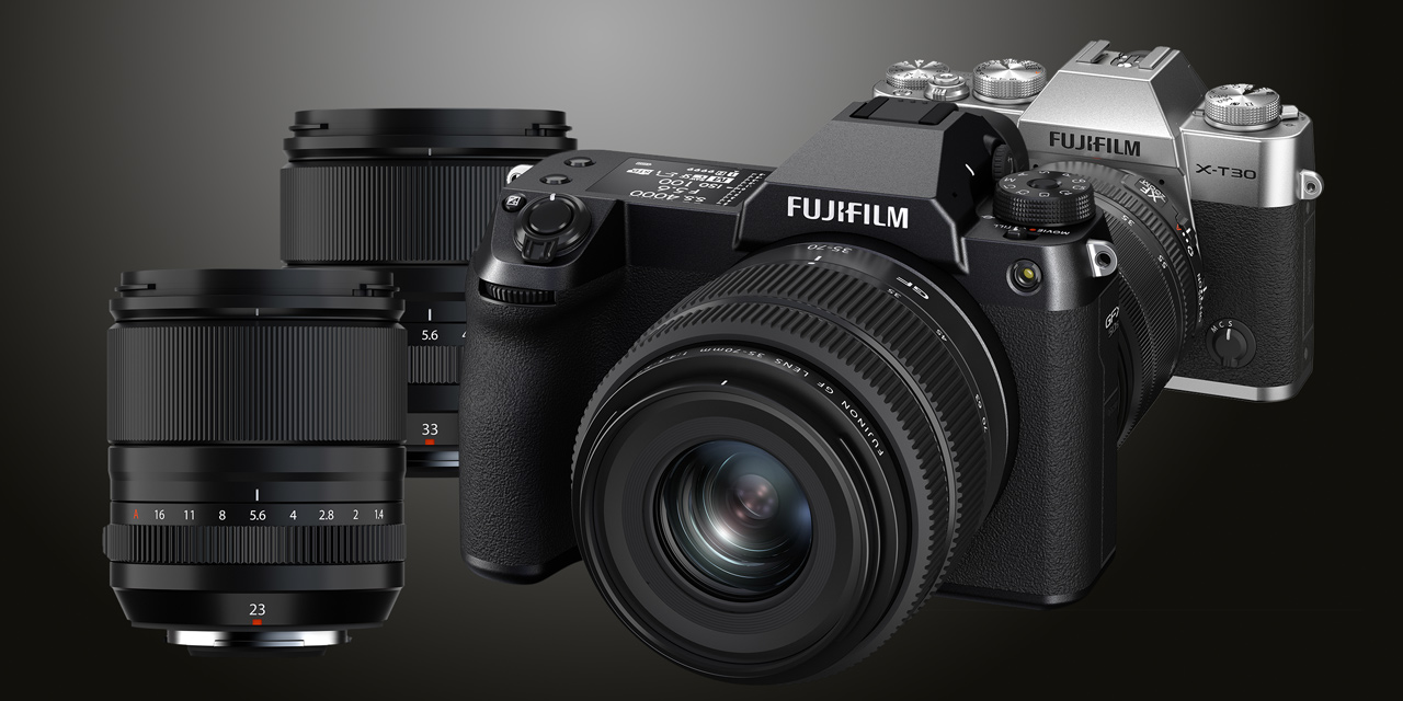 Fujifilm Neuheiten: GFX 50S II, X-T30 II und drei neue Objektive
