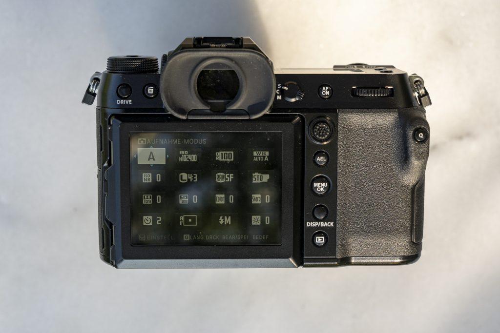 GFX100S Q-Menü