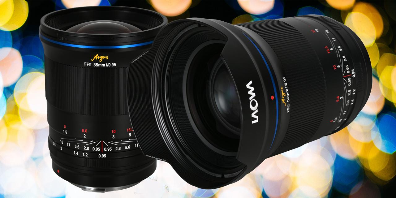 Neu von Laowa: Lichtriese Argus 35mm f/0,95 FF für Sony E, Canon RF und Nikon Z