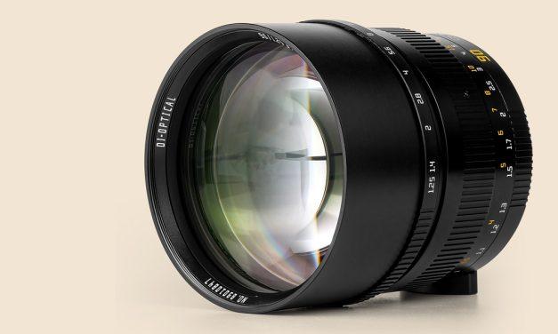 Neu von TTArtisan: M 90mm f/1,25 für Leica M und Spiegellose