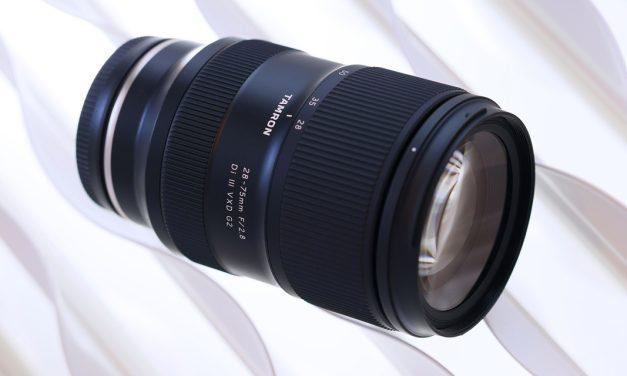 Tamron bringt verbessertes 28-75mm F/2.8 Di III VXD G2 für Sony E