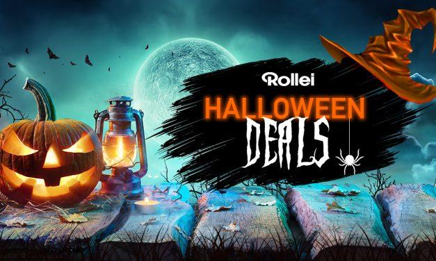 Halloween bei Rollei: Schaurig schöne Schnäppchen, gruslig günstige Gelegenheiten