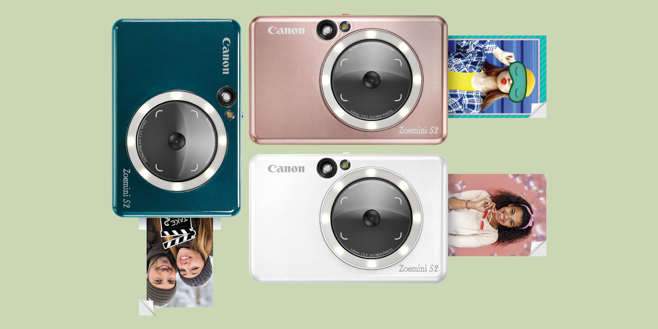 Canon Zoemini S2: Sofortbildkamera mit Mini-Fotodrucker