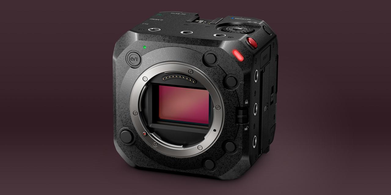 Neu von Panasonic: Box-Style-Kamera Lumix BS1H mit Kleinbildsensor