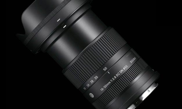 Für Sony E und L-Mount: Sigma bringt 18-50mm F2.8 DC DN für APS-C (aktualisiert)