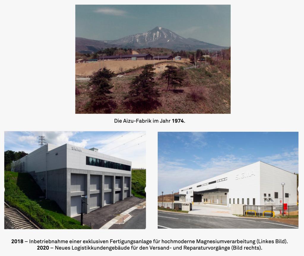 Sigma-History-Aizu-Fabrik