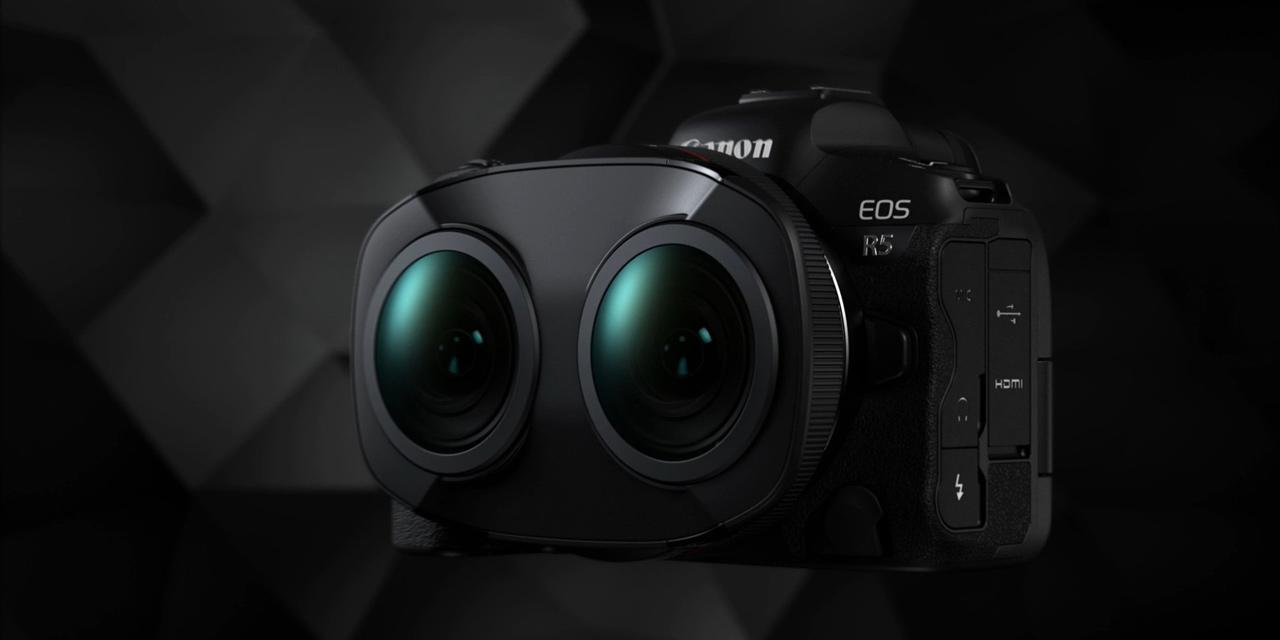 Speziell für VR-Anwendungen: Canon RF 5.2mm F2.8 L Dual Fisheye